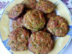 Vegetarian Recepies, Vegan Recipes, Cooking Recipes, Greek Appetizers, Appetizer Recipes, Greek Cooking, Greek Dishes, Baked Chicken Recipes, Zucchini