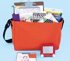DIY Children's travel kit
