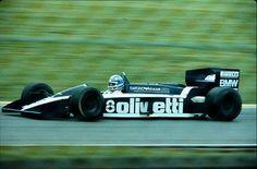 Elio De Angelis su Brabham BT-55 BMW 1986