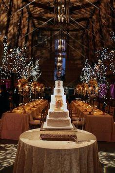 elegant barn wedding reception / http://www.himisspuff.com/rustic-indoor-barn-wedding-reception-ideas/4/