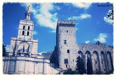 Avignon Cathedral and Palais des Papes, France (2009)