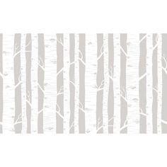 31818 Birch Trees, Pattern Colour Glass Effect Decorative Frosted Effect Window Film