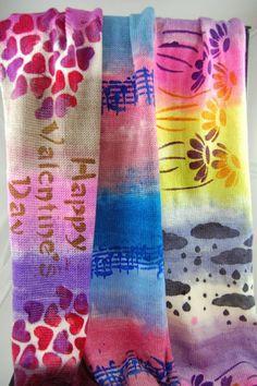 Susan B. Anderson: One Love Shawlette ~ and a sock blank club ...