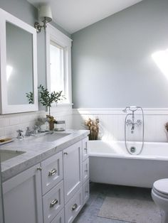Fiorella Design - colour scheme, tiles, vanity.