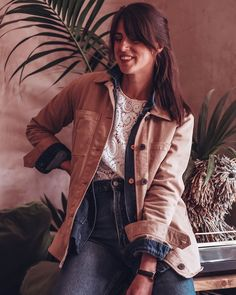 the Gianna jacket by Baukjen - a beautiful sustainable British brand (15% off code too) Homeland Season, Ginger Chicken, Down Puffer Coat, Spring Jackets, Whittling, Face Wash, British, Product Launch, The Incredibles