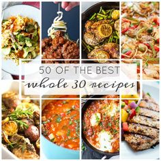This post may contain affiliate links. See my Full Disclosure for further details. 50 of the Best Whole 30 Recipes mouthwatering dishes that range from simple to a little more intricate. These recipes that will not only make your New Year healthier but even more delicious. I have to say when I set out to find the …