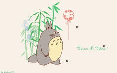 My neighbor Totoro   My Neighbor Totoro Wallpaper And Balloon Wallpaper - Free Download My ...