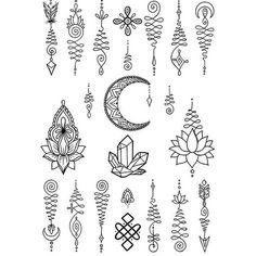 Resultado de imagen para lotus mandala tattoo