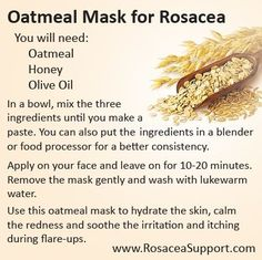 Red face rosacea rosacea causes symptoms and treatment,best age wrinkle cream facial treatment,best natural face cream for aging skin best organic anti wrinkle cream. Facial Treatment, Skin Treatments, Belleza Diy, Tips Belleza, Oatmeal Mask, Rosacea Remedies, Red Face Remedies, Health And Fitness, Beauty Makeup