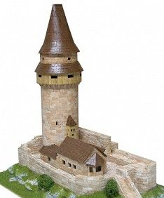 Construction kit for the reproduction of the Stramberk tower Medieval Tower, Brick Construction, Tower Building, Scenery, Outdoor Decor, Ebay, Czech Republic, Rapunzel, Parenting