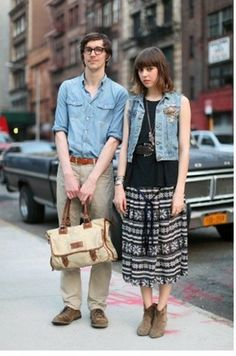 couple denim