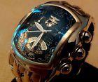 Rare Invicta Men's 2222 Lupah Bracelet Chronograph 23k Gold P Swiss Analog Watch