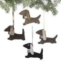 Dachshund Christmas Ornaments