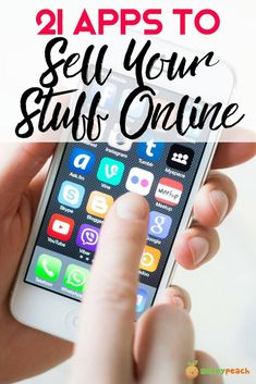 21 Best Apps to Sell Your Stuff Online Use these apps to declutter your home and get some money back Sites To Sell Stuff, Sell Your Stuff, Things To Sell, Selling Apps, Selling Online, Need Money, How To Make Money, Sell Items Online, Where To Sell