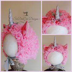 Cashee The Pink Unicorn Bonnet