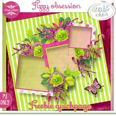 Fizzy obsession quickpage freebie