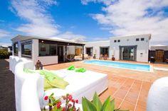 Villa capricho - Playa Blanca, Yaiza (Lanzarote)  http://es.rentalia.com/78925
