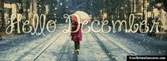 Hello December Timeline Cover Great #Facebook cover image #marketing