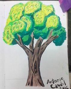 #illustration #ilustração #sketch #sketchbook #draw #drawing #desenho #tree #arvore