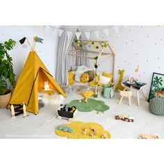 Buy Dinki Balloon children's room wall sticker Safari yellow / green / gray 76 pieces at Fantasyroom online Safari Kids Rooms, Safari Bedroom, Baby Bedroom, Kids Bedroom, Toddler Rooms, Baby Boy Rooms, Baby Room Design, Home Decor Pictures, Nursery Room Decor