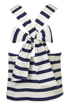 Must have - stripes AND a bow.