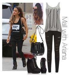 """""""Mall with Ariana"""" by miksong ❤ liked on Polyvore featuring Parisian, Versus and Vero Moda"""