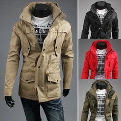 Modern Men Fashion Look Funnel Neck Slim Fit Jacket . Shop Now At  http://sneakoutfitters.com/collections/new-in/products/modern-men-fashion-look-funnel-neck-slim-fit-jacket-ao-cybb-mb-714-so80