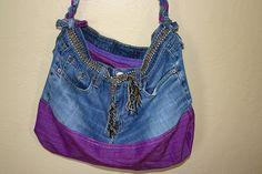 homemade jean pocketbooks and handbags - Bing Images