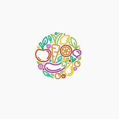 Healthy food logo idea design made by @nindzecom  #logoplace #graphicdesign…