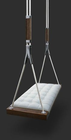 Dolce Farniente luxury hand made interior swings collection Mini Loft, Indoor Swing, Diy Zimmer, Interior And Exterior, Interior Design, Swinging Chair, Hammock Chair, Home Accessories, Furniture Design