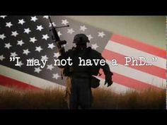 I MAY NOT HAVE A PhD BUT I DO HAVE A DD214