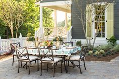 "This year's themed home, set in Birmingham, Ala., celebrates ""Southern designing with modern detailing."" Architect Bill Ingram designed the front exterior of the Southern Living 2016 Idea House. Laurey Glenn/for Southern Living"