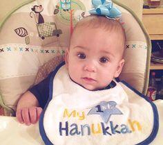 Happy First Hanukkah!! {REPIN} and {FOLLOW} us! www.blissfulbabynurse.com