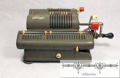 Rechenmaschine Walther WSR16 von oldfamiliar1 auf Etsy, €45,00