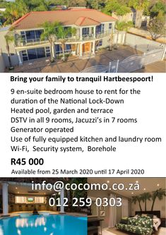 Bedroom With Ensuite, Heated Pool, Jacuzzi, Renting A House, Laundry Room, Terrace, Outdoor Decor, Balcony, Patio