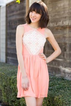 Millie Crochet Dress