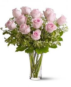 13 best flowers in vases images on pinterest bunch of flowers send a dozen pink roses for fresh and fast flower delivery throughout metairie la area mightylinksfo