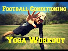 Yoga Workout for Football Conditioning - Power Yoga for Athletes - YouTube