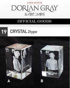JYJ Junsu Musical <Dorian Gray> official MD CRYSTAL