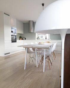 Panthella sniker seg stadig vekk med på bildene #vernerpanton #panthella #floorlamp #lampefavoritt #kjøkken #kitchen #whitekitchen #plankebord #furu #ikea #hltips #aimforhappinessinspo #interiorinspo #nordiskehjem #skandinaviskehjem #inspotoyourhome #scandinavianhome #colourfulhome #noeinspo #inspotoyourhome #jotunlady #mintybreeze @hthnorge #interiorwarrior #parkettgulv #enstavsparkett #interior4all