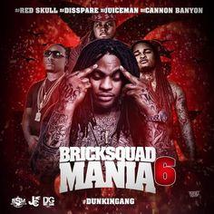 Waka Flocka & BSM  Brick Squad Mania 6 Hip Hop Mixtapes, Waka Flocka, Rap Music, Cover Art, Squad, Dj, Brick, Movies, Movie Posters