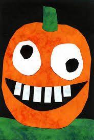 Silly Halloween Pumpkin · Art Projects for Kids Halloween Art Projects, Theme Halloween, Halloween Arts And Crafts, Fall Art Projects, Halloween Crafts For Kids, Halloween Activities, Art Activities, Projects For Kids, Fall Halloween