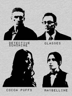 #REESE #FINCH #ROOT #SHAW #PERFECTTEAM #WELOVEPOI