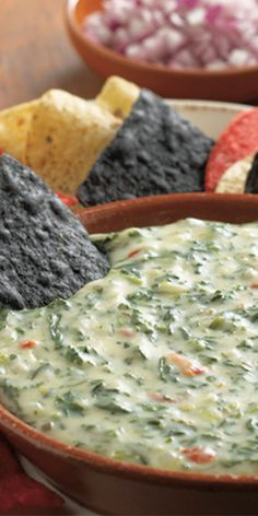 Cheesy Spinach Dip Recipe from our friends at Daisy Sour Cream