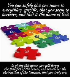 Give the name of God to every-thing #acourseinmiracles #spirituality #enlightenment #love #God #forgiveness #holyspirit #jesus #oneness #perfection #buddha #happiness #spiritual #mystic #acim #unconditionallove #ego #dream #light by christian_crone