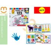 Alex Touch and Feel Cards 123