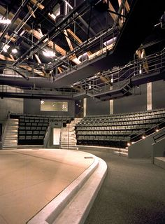 ORVIS THEATRE-SEATTLE ACADEMY OF ARTS AND SCIENCES- INTERIOR VIEW