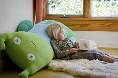 This monster pillow is pretty awesome... $300 is too awesome for me, but still neat.