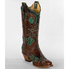 Corral Cross Cowboy Boot --#ATBFashionRoundup with @Akemi Blanchard Financial and @Michelle Flynn McCurrach