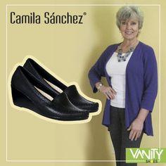 Porque aún es el mes de #mamá te mostramos los #CamilaSanchez super cómodos confeccionados en 100% cuero con suela antideslizante...muy recomendados para las consentidas de casa